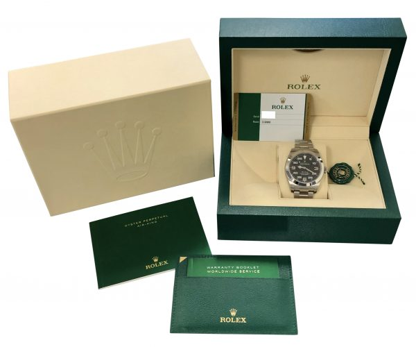 2019 rolex air king 40mm 116900 for sale