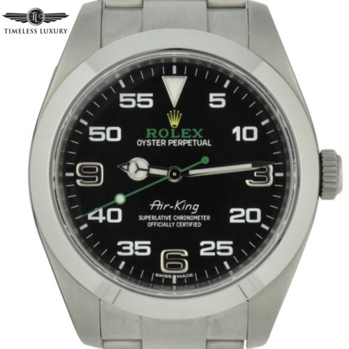 2019 Rolex Air King 116900 black dial