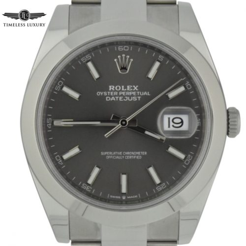 Mens rolex datejust 41 126300
