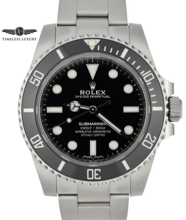 new rolex submariner no date 114060