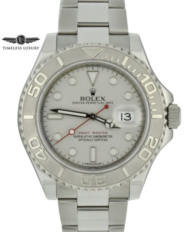 Rolex yachtmaster 40mm 116622 platinum dial