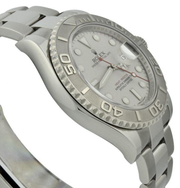 rolex yachtmaster 116622 platinum bezel