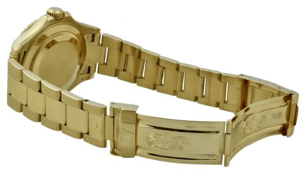 rolex yachtmaster 18k clasp