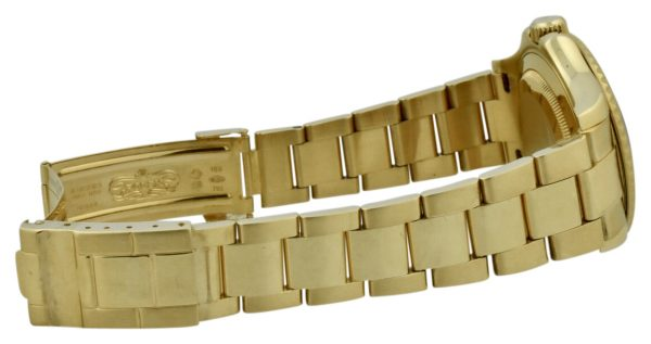 rolex yachtmaster 18k gold band