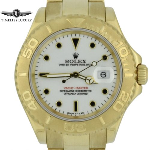 Rolex Yachtmaster 40mm 18k gold 16628