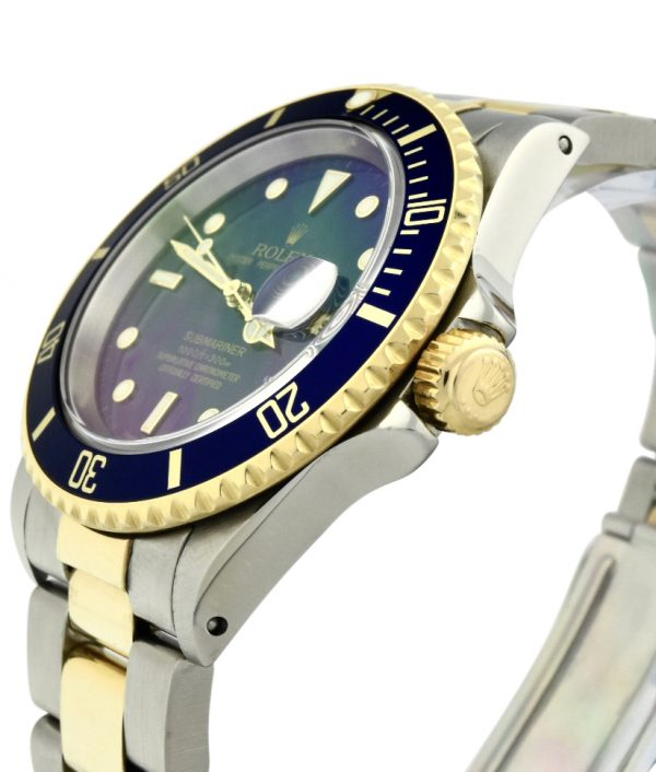 Men's Rolex Submariner 16613 Blue Dial
