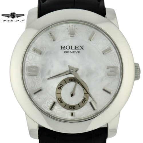 Men's Rolex Cellini Cellinium 5240 Platinum Watch
