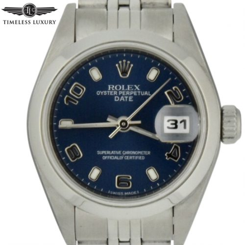ladies rolex datejust 79160