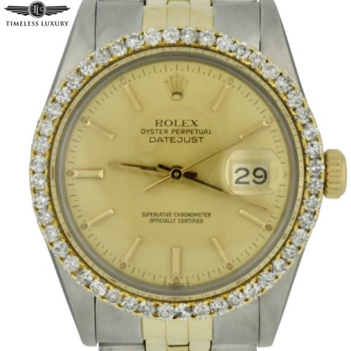 1979 Rolex datejust 16253 diamond bezel