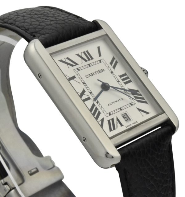 cartier tank solo xl stainless steel 3515