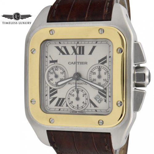 Cartier santos 100 xl chronograph 2740