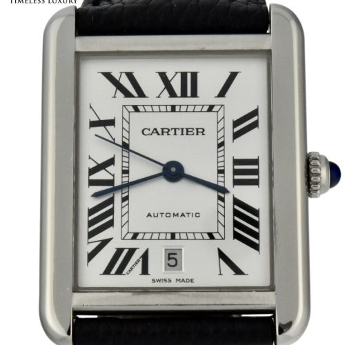 Men's Cartier tank solo xl 3515