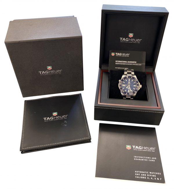 tag heuer aquaracer nrdc waj2115 watch for sale