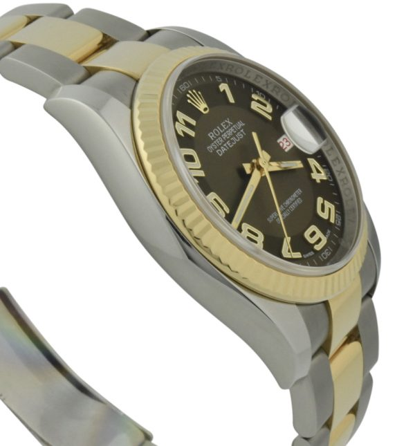 rolex datejust 36mm bronze dial