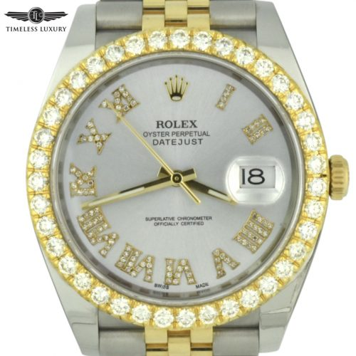 Rolex Datejust 41 Diamond bezel 126333
