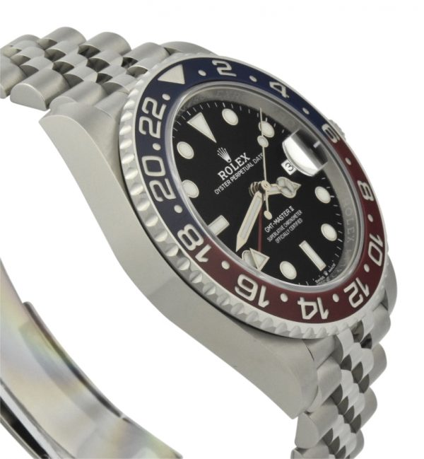 new rolex gmt Pepsi for sale