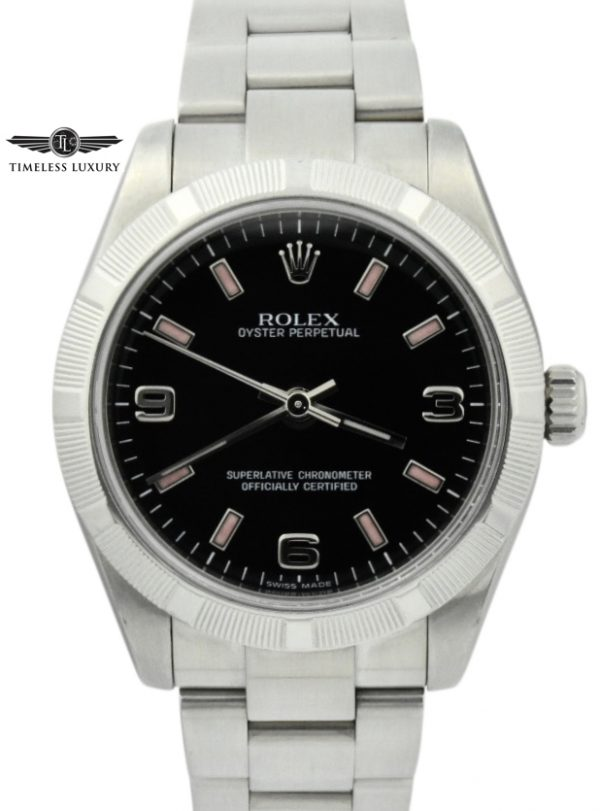 ladies rolex oyster perpetual midsize 177210