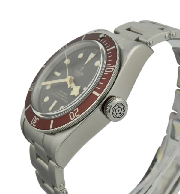 tudor black bay red bezel