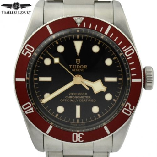 Tudor black bay heritage red 79230r