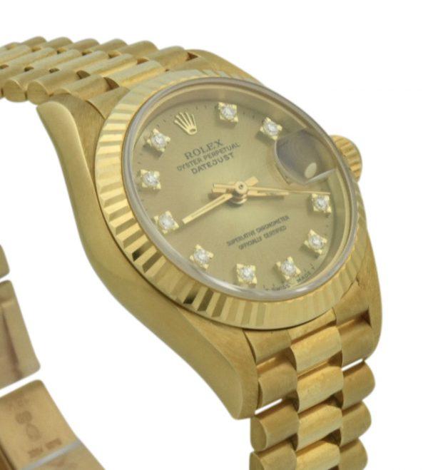 rolex 69178 diamond dial