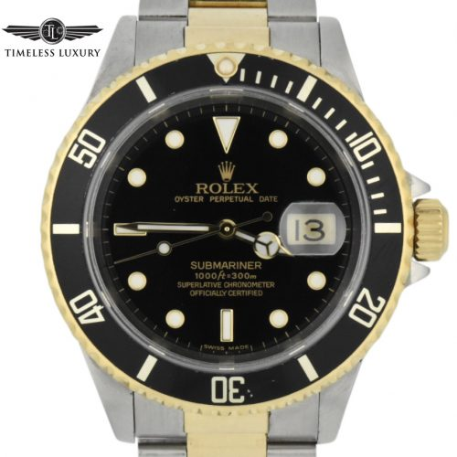 1999 Rolex submariner 16613 two tone