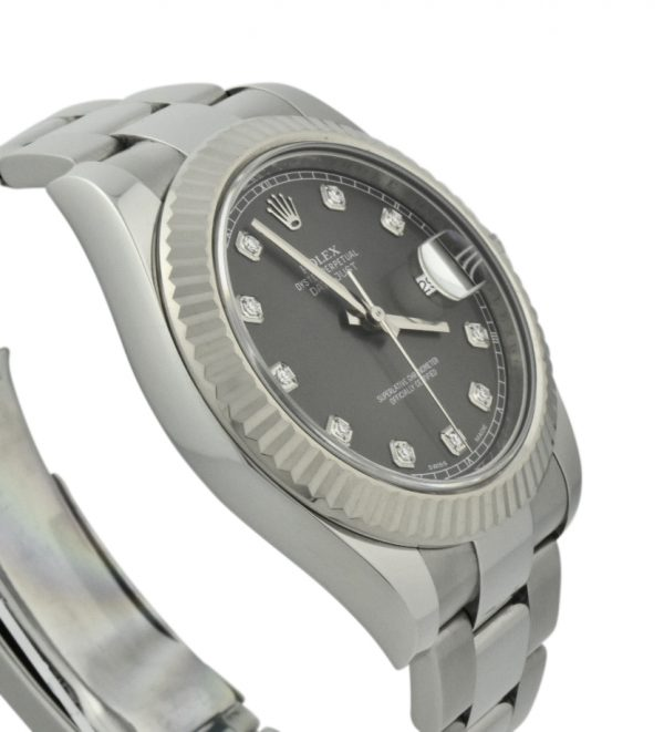 rolex datejust 41 diamond dial