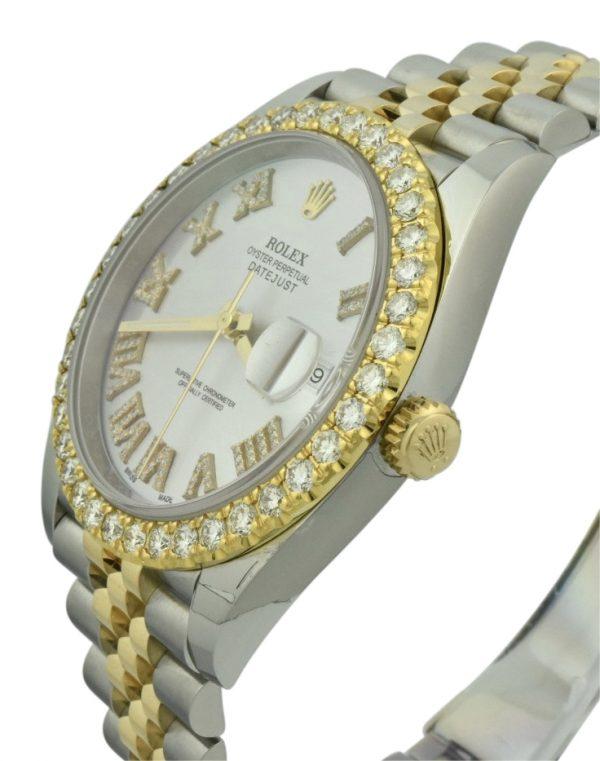 rolex datejust 41mm diamonds