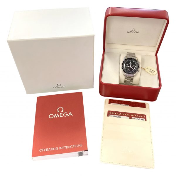 omega speedmaster moonwatch 35705000 for sale