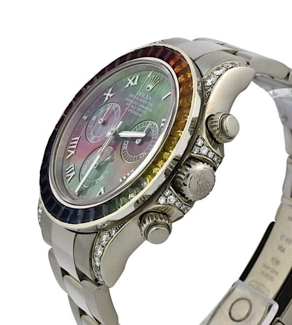 Rolex Daytona 116509 Rainbow Bezel