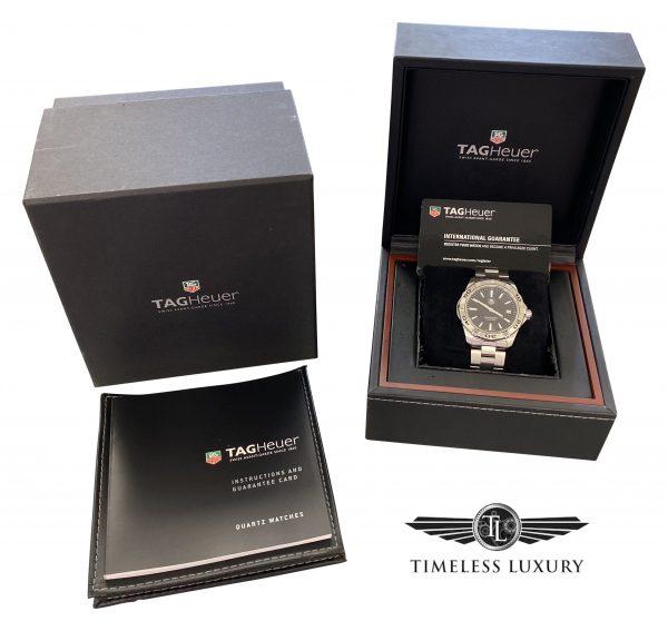 mens tag heuer aquaracer wap1110 quartz watch
