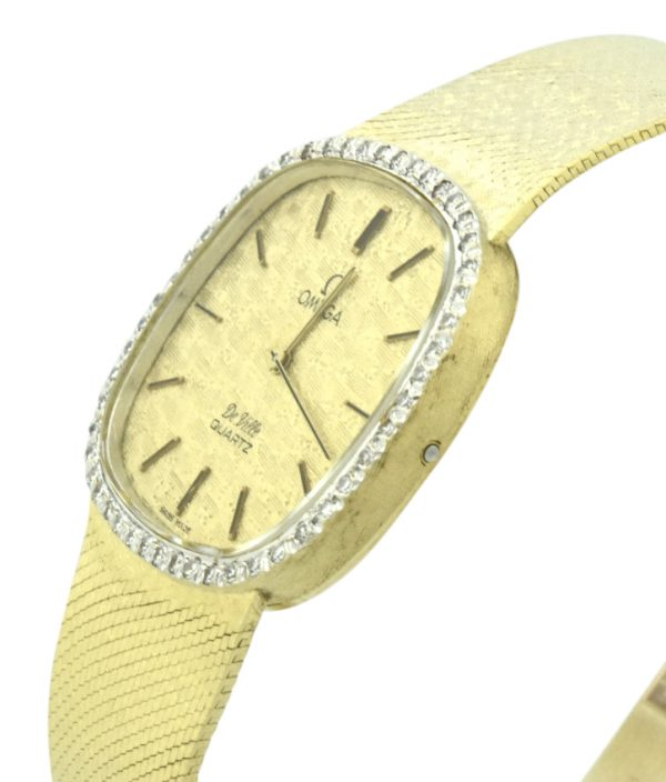 omega deville cal 1365 gold watch