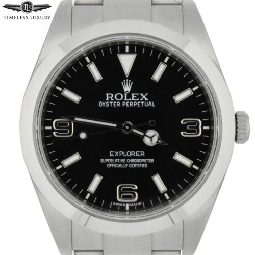 2017 rolex explorer 214270 39mm watch