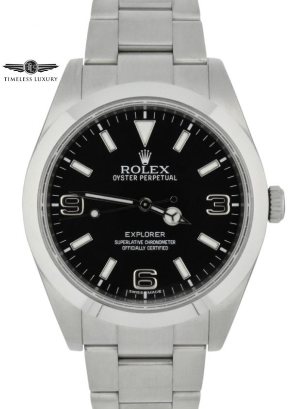 2017 rolex explorer 214270 39mm watch