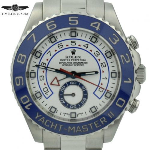 Mens Rolex Yachtmaster II 116680 44MM