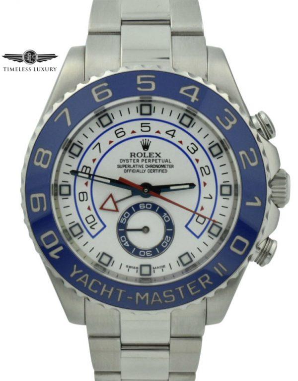 Mens Rolex Yachtmaster II 116680 44MM