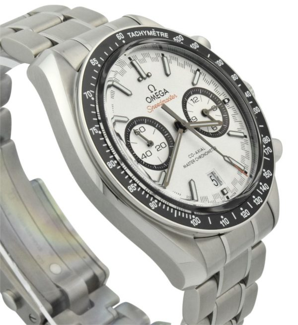 omega speedmaster racing white dial