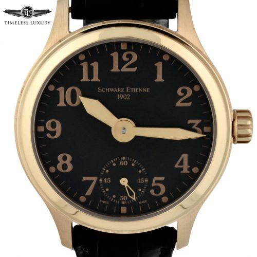 schwarz Etienne limited edition rose gold watch