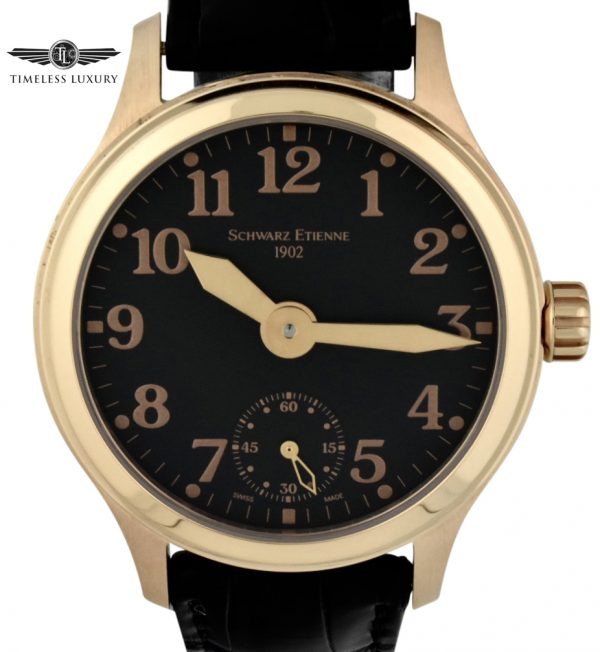 schwarz Etienne limited edition rose gold watch