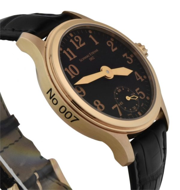 schwarz Etienne 1902 limited edition rose gold manual wind watch