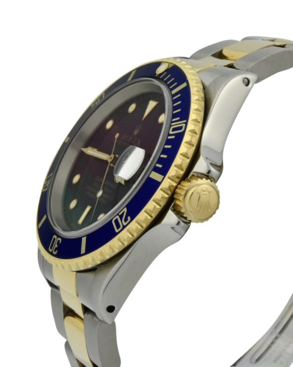 rolex 16613 gold crown