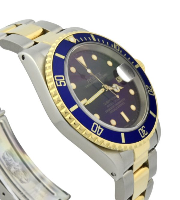 rolex 16613 blue