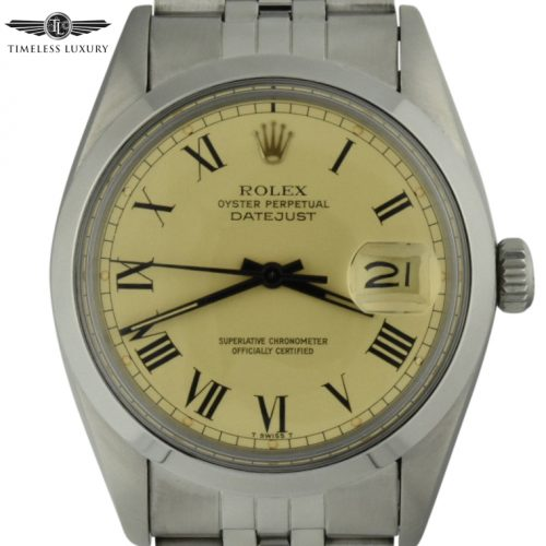 1979 rolex datejust 16000 Buckley dial