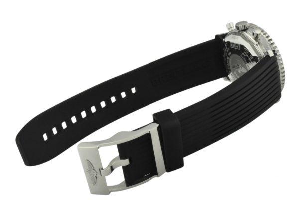 breitling navitimer rubber strap