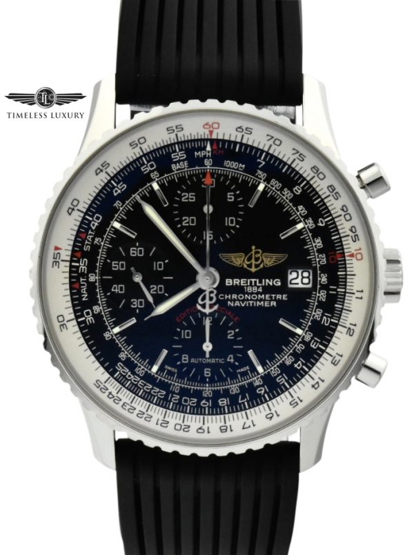 Breitling navitimer 41 limited edition black dial