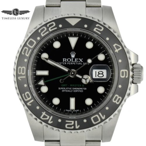 2016 rolex gomt-master II 116710LN for sale