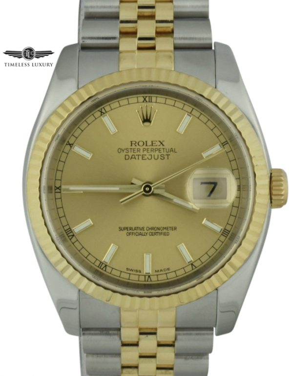 2004 Rolex Datejust 36mm 116233 for sale