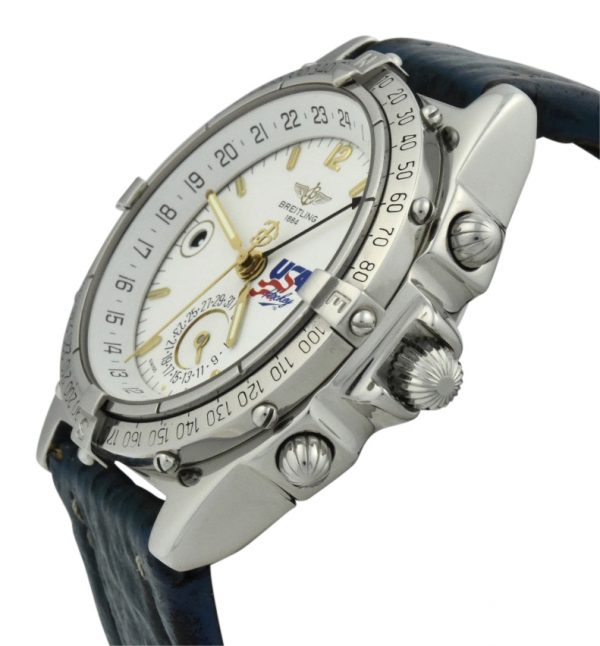 breitling duograph a15507 1994 olympic watch