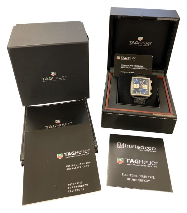 tag heuer monaco caw2111 blue dial for sale