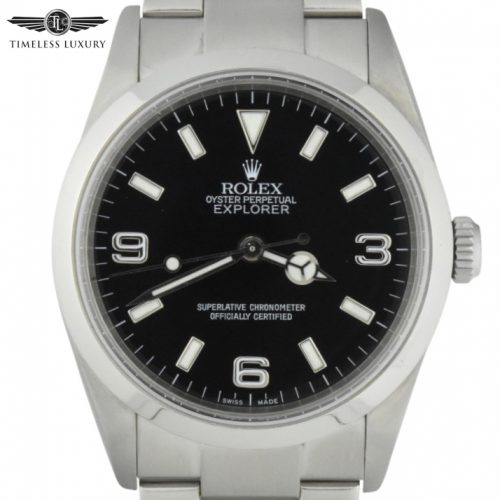 2001 Rolex Explorer 114270 36mm