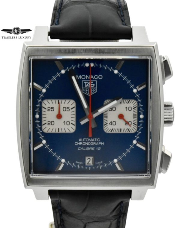 Tag Heuer monaco caw2111 blue dial